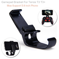 Gamepad Bracket Clip Mount Holder Stands for Terios T3 T3+ PS3 Adjustable Mobile Phone Holders Max 5.9""