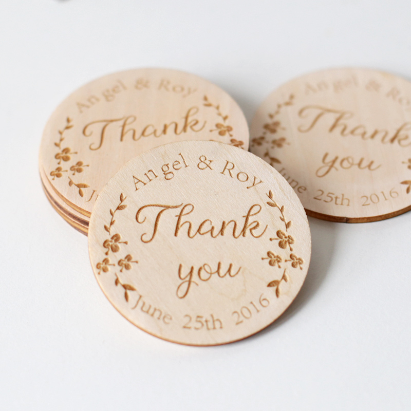 Wedding Save the Date Magnets, Personalized Elegant Wedding ...