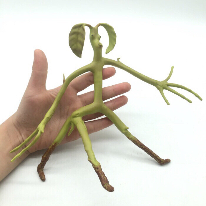 Fantastic Beasts Action Figure Animals XX Flexible Bowtruckle Toy Doll Movies Magic Newt