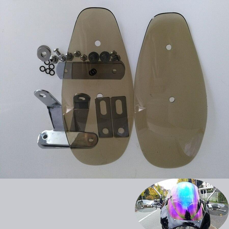 Protection de protection de vent de garde de main de moto pour SUZUKI DRZ400 RMX250 XR650L 650 XT DR-Z400SM v-strom 650 ABS DR-Z400S