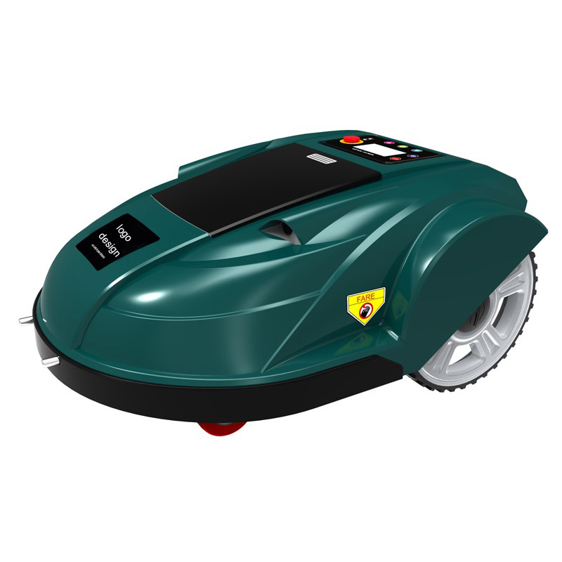 Cool Electric Lawn Mower Intelligent Robot Mower With