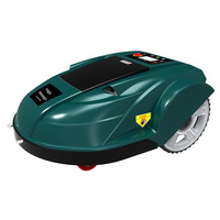 Cool Electric Lawn Mower Intelligent Robot Mower With Battery Power Robotic Mower Design