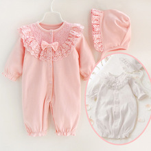 GRNSHTS Newborn Toddler Infant Baby Girl Romper 4pcs