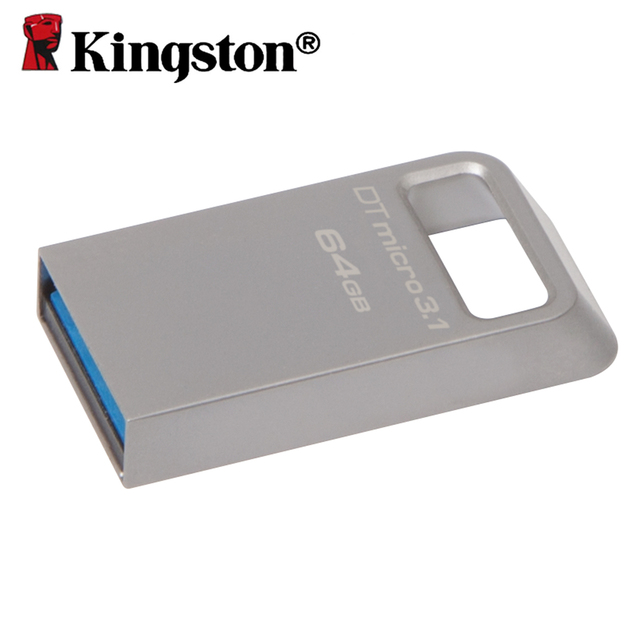 Kingston pendrive 64 gb memoria USB 3.1 flash memory mini usb flash drive 3.0 otg usb stick