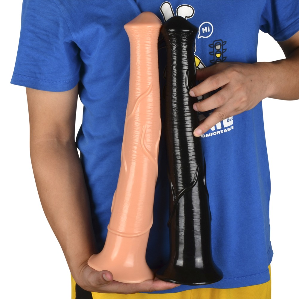 16.5 inch Long Animal Dildo Huge Dildo Super Big Horse Dildo With Suction Cup Realistic Penis Sextoys Adults For Women|Dildos| |  - title=