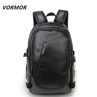 2017 VORMOR Brand Waterproof 15 6inch Laptop Backpack Men Backpacks For Teenager Simple Design Men Casual
