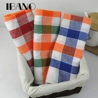 3PCS SET 40x60CM 100 Cotton Plain Stripe Dish Towel Kitchen Towel Cleaning Cloth Tea Towel Napkins