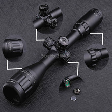 Tactical Leapers UTG 3-9X40 AO Riflescope Optical Sight Full Size Mil Dot Red Green Blue llluminate Hunting Rifle Scope