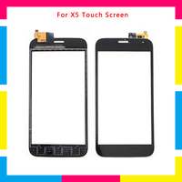 5Pcs/lot high quality Touch Screen Digitizer Sensor Outer Glass Lens Panel For Explay X5 + Tracking code