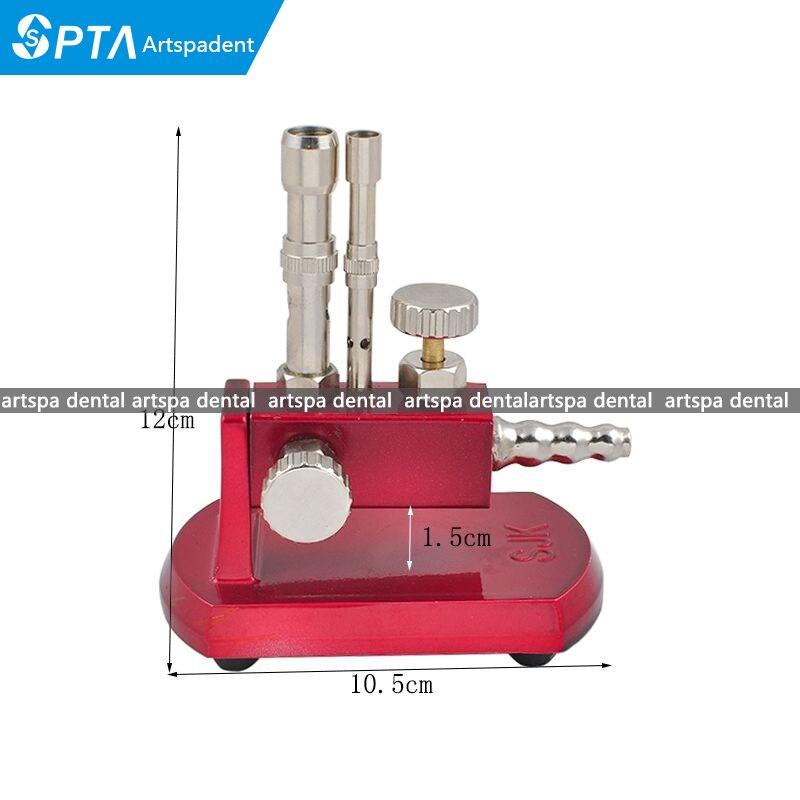 Équipement rotatif réglable de dentiste de brûleur de Bunsen de lumière de gaz de laboratoire dentaire
