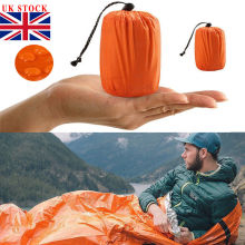 Высококачественный легкий спальный мешок для кемпинга, Открытый аварийный спальный мешок с кулиской для кемпинга, путешествий, пеших прогулок