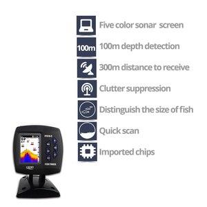 Image 3 - 럭키 원격 제어 어군 탐지기 에코 사운 더 FF918 CWLS 컬러 무선 센서 낚시 300 m/980ft 작동 fishfinder # c5