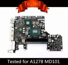 Tested Motherboard for Macbook Pro A1278 Logic Board 13″ Laptop I5 2.5GHz Motherboard 820-3115-B 2012 MD101