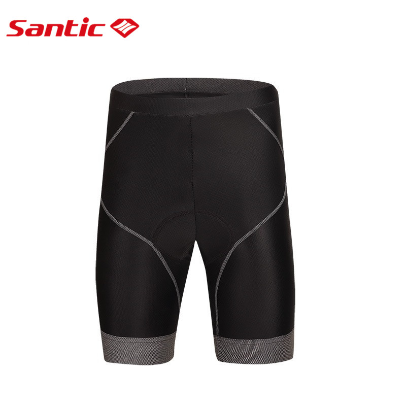 Santic Cycling Shorts Padded Bicycle Shorts Culotes Ciclismo Pantalon Cuissard Velo Bermuda Ciclismo S-3XL M5C05060H