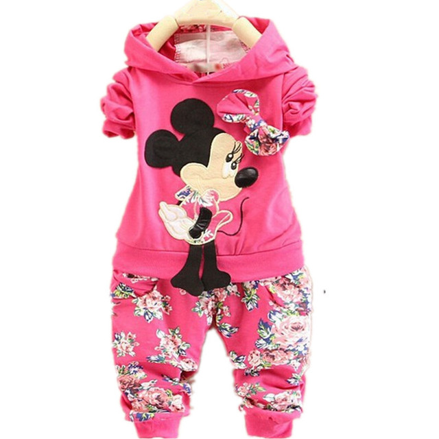 2015 new fashion Spring Autumn baby girls Sport suit set long sleeve children hoodies+pants clothes sets kids 2 pcs clothing set