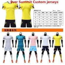 Ever Summit Custom Soccer Jersey футбольные футболки Mbappe тренировочные комплекты пустая Версия спортивные костюмы для взрослых Ronaldo de Futbol
