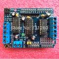 1 pcs Motor Drive Blindagem dupla L293D para arduino Duemilanove, placa de expansão de acionamento do motor