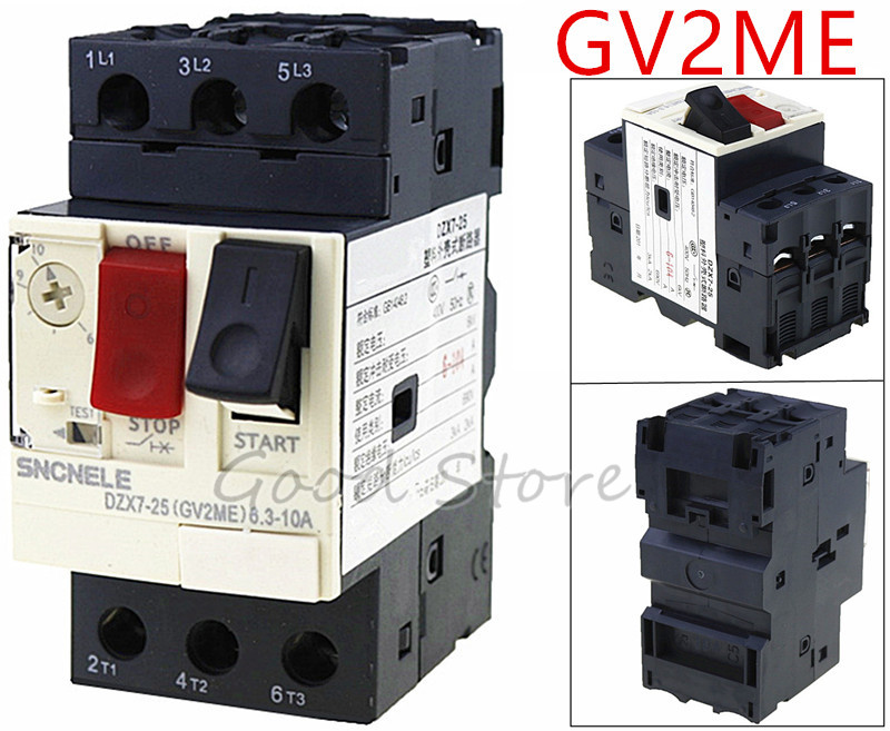 GV2-ME14C 6-10A Motor circuit breaker GV2-ME14C 6-10A motor protection circuit breaker Press-button controlGV2-ME14C 6-10A Motor circuit breaker GV2-ME14C 6-10A motor protection circuit breaker Press-button control