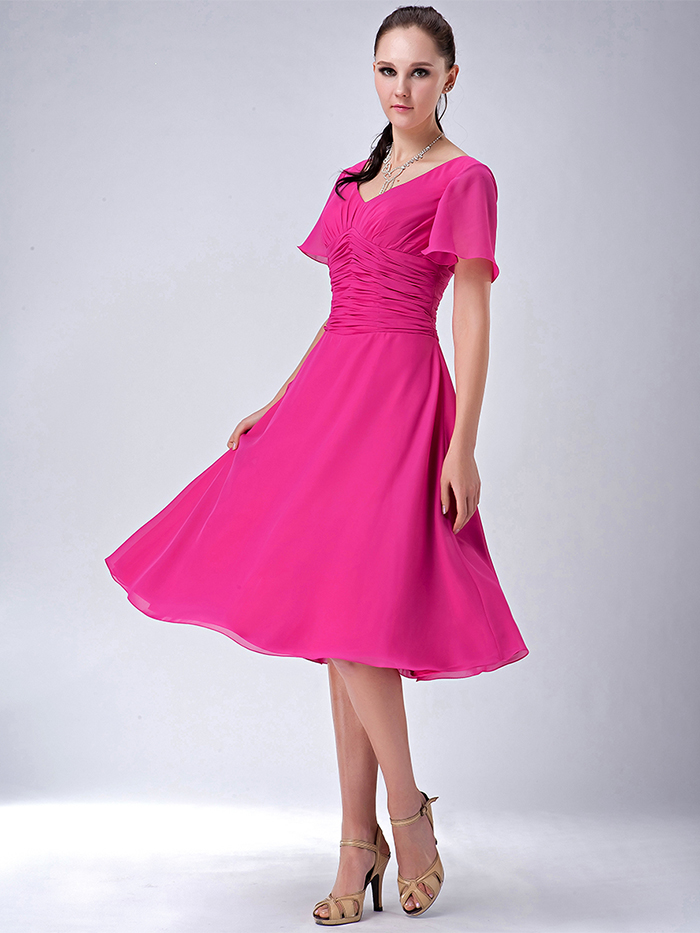 Moderno Más Tamaño Modesto Vestidos De Dama Ideas Ornamento ...