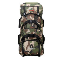 2018 New 90L Large Capacity Outdoor Trekking Climbing Travelling Rucksack Camouflage Military Tactical Backpack