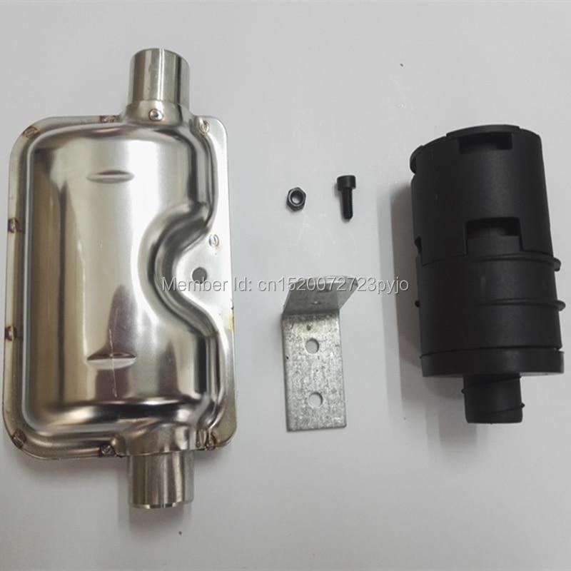 Hangtompító és hangtompító a Webasto dízel fűtéshez; - Autóelektronika