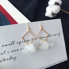 Bilandi new petals pendant earrings of female fashion popular female geometrical earring flower accessories