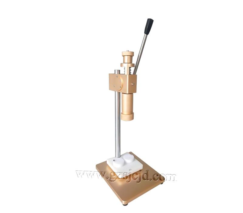 Manual machine for perfume 2016 new Perfume cap crimping machine cap pressing machine capping heads