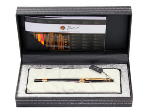 Image 4 - Pimio Picasso fountain pen picasso ps 917 gold clip silver Student teacher business Roman style gift box packaging FREE shipping