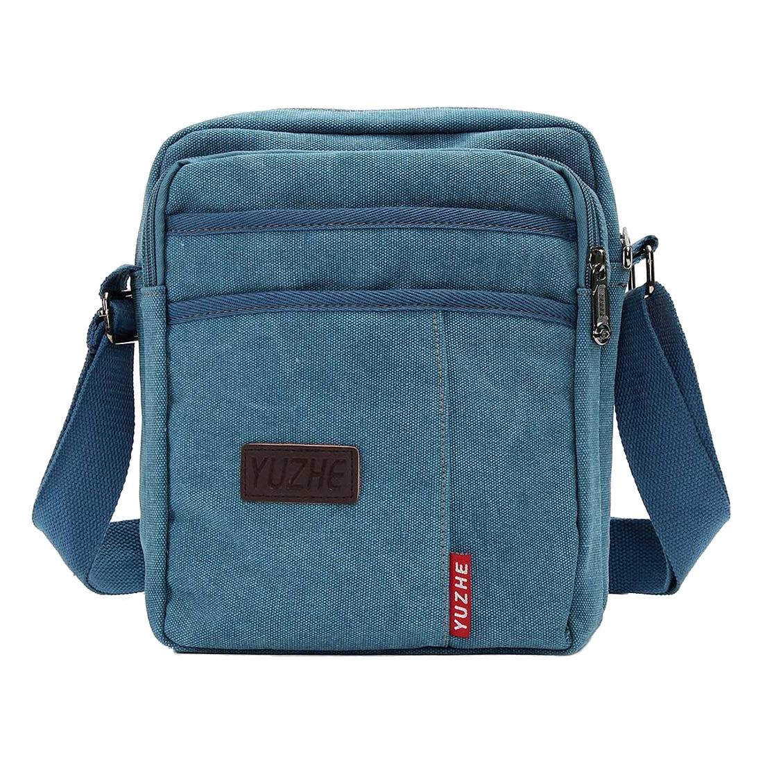 Aggressiv Männer Vintage Canvas Messenger Bags Stabile Konstruktion