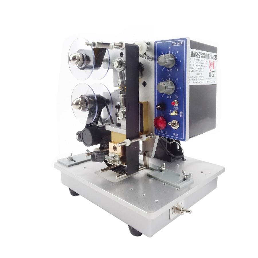 Free ship by DHL HP-241B Low price best selling electric ribbon coding machine Batch Coding Machine Printing Machine