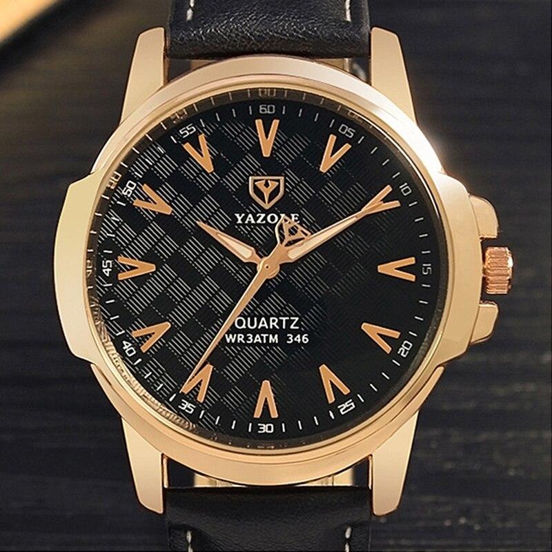 New Top Brand 2017 Luxury Famous Yazole Wrist Watch Men Wristwatch Male Clock Hodinky Quartz-watch Relogio Masculino Sport Watch mattel набор с фигуркой dc super hero girls чудо женщина с мотоциклом 15 см