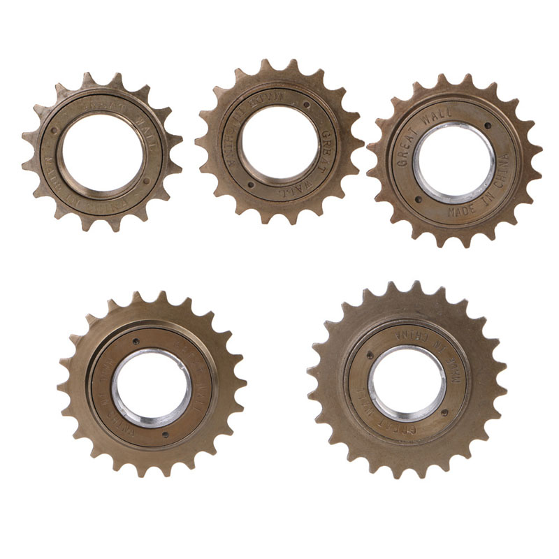 Bike Bicycle Race 16/18/20/22/24T Tooth Single Speed Freewheel Sprocket Part High Quality