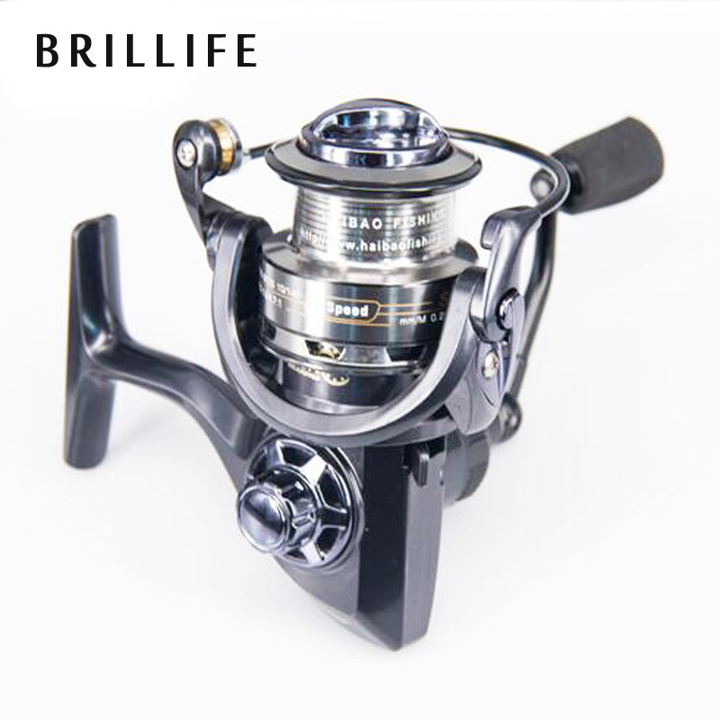 DEUKIO Spinning Fishing Reel Full Metal 11+1 BB Double Speed Ratio 4.7:1 and 6.7:1 SG2000-5000 Series Spinning Reel tokushima hf series all metal double bearing 5 1 bearings spinning reel 4 5 1