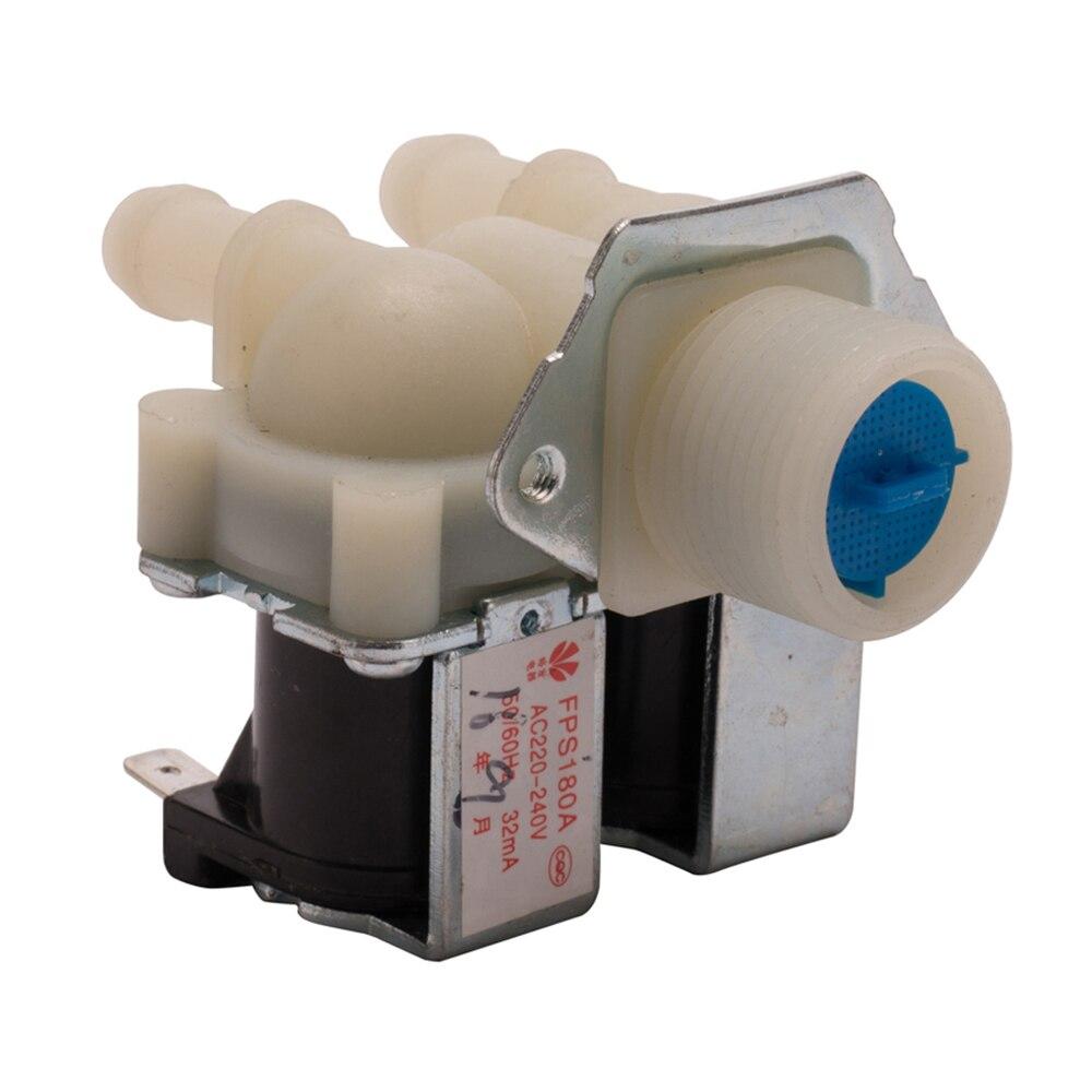 FPS180A AC220V algemene wasmachine dubbele inlaat waterklep thuis elektrisch apparaat afwerking wasmachine vervangende onderdelen