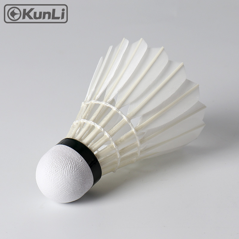 Kunli badminton shuttlecocks KL-Silver Toppbetyg Cigu - Sport racketar - Foto 4