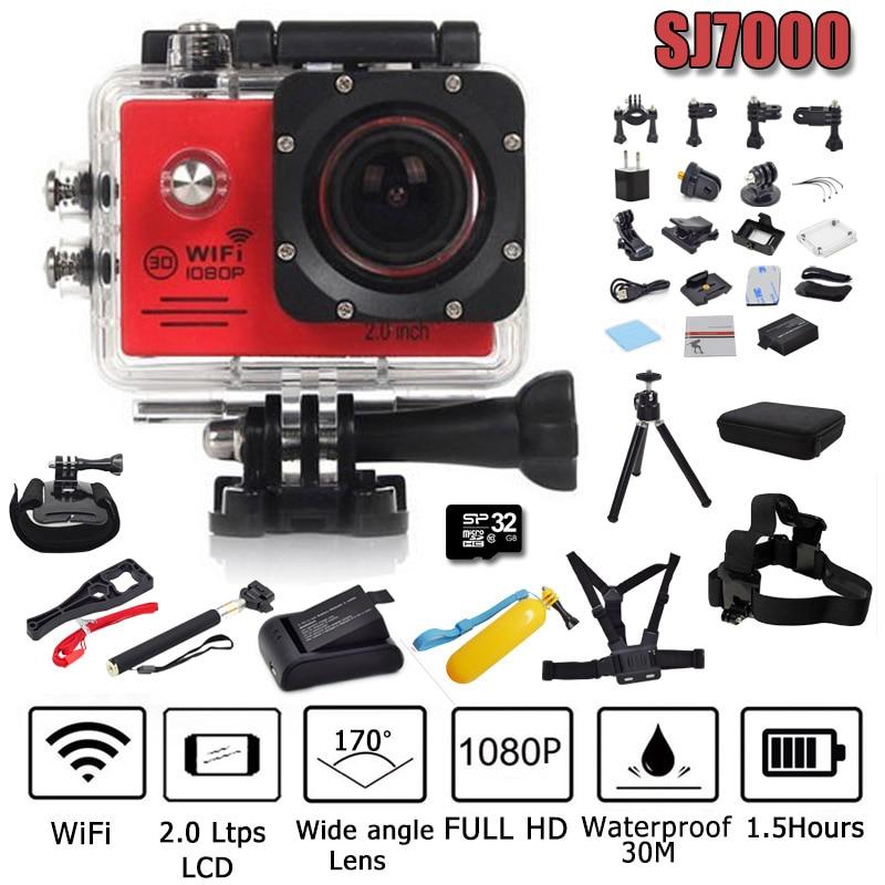 bilder für Action Kamera Wifi 2,0 Ltps led recorder marine tauchen 1080 P HD go pro stil dv nur weniger als 4 karat nicht gopro sport kamera