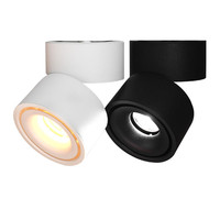 10W 15W led downlight Surface mounted Dimmable Adjustable Spot light 360 Rotatable led lamp for indoor Foyer,Hall