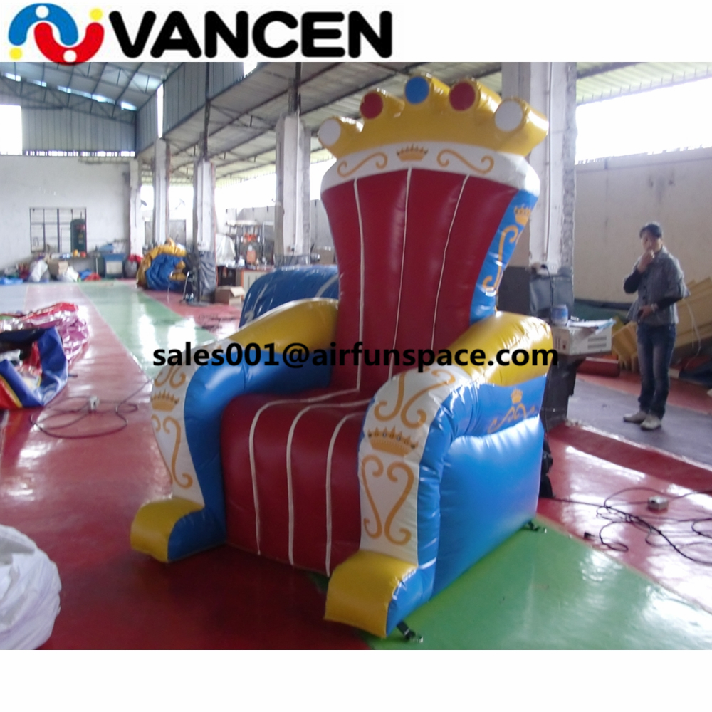 Inflatable Kids Birthday Chair: Vancen Customized Logo Inflatable Advertising Chair For