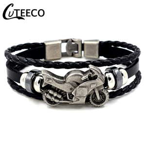 CUTEECO Fashion Vintage Mens L