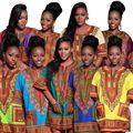 Мужчины Африканской моды, дизайн-африканской традиционной печати Dashiki Партия С Коротким Рукавом Футболки женщин Dashiki платье панк 72409