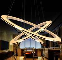 New LED Chandelier Modern Chandeliers China Lustre Decorative Pendant Lamp Living Room Dining Room CE RoHS