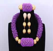 ФОТО african wedding engagement jewelry set 6 layers sexy hot red nigerian beads women fashion party jewelry set free shipping