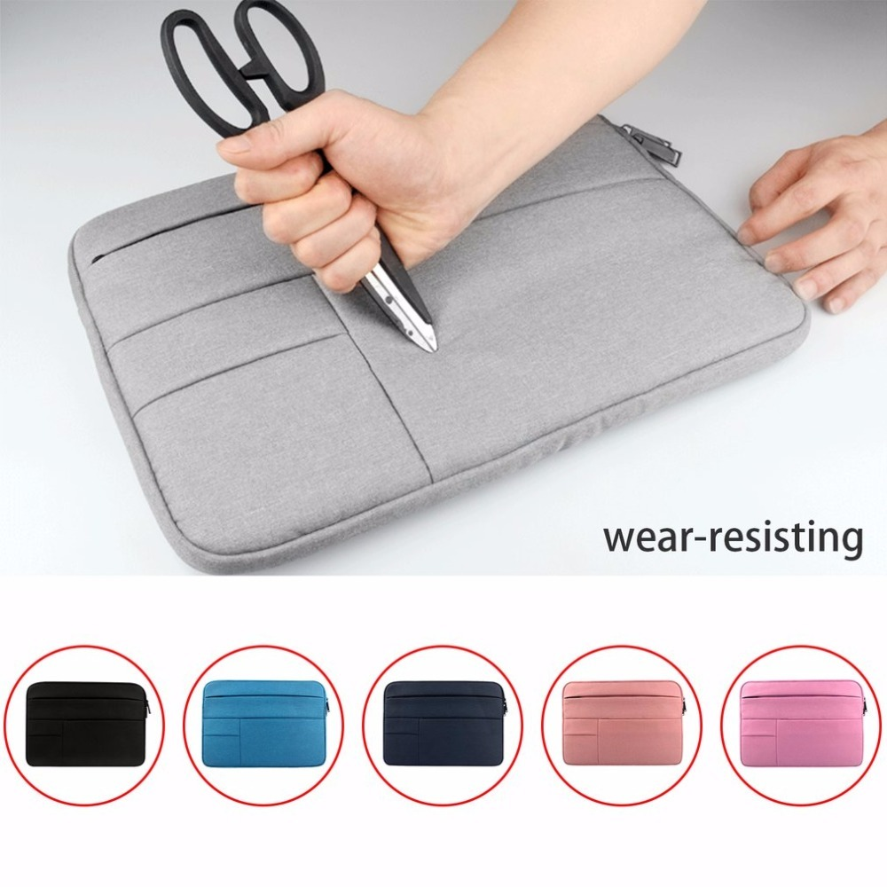 Waterproof Laptop Bag Case Solid Computer Cover For Dell HP Acer Lenovo For MacBook 11.6 12 13 14 15 15.6 inch Laptop Sleeve