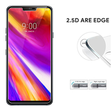 Wangcangli Screen Protector For LG G7 2.5D 0.3mm Ultra-thin Tempered Glass For
