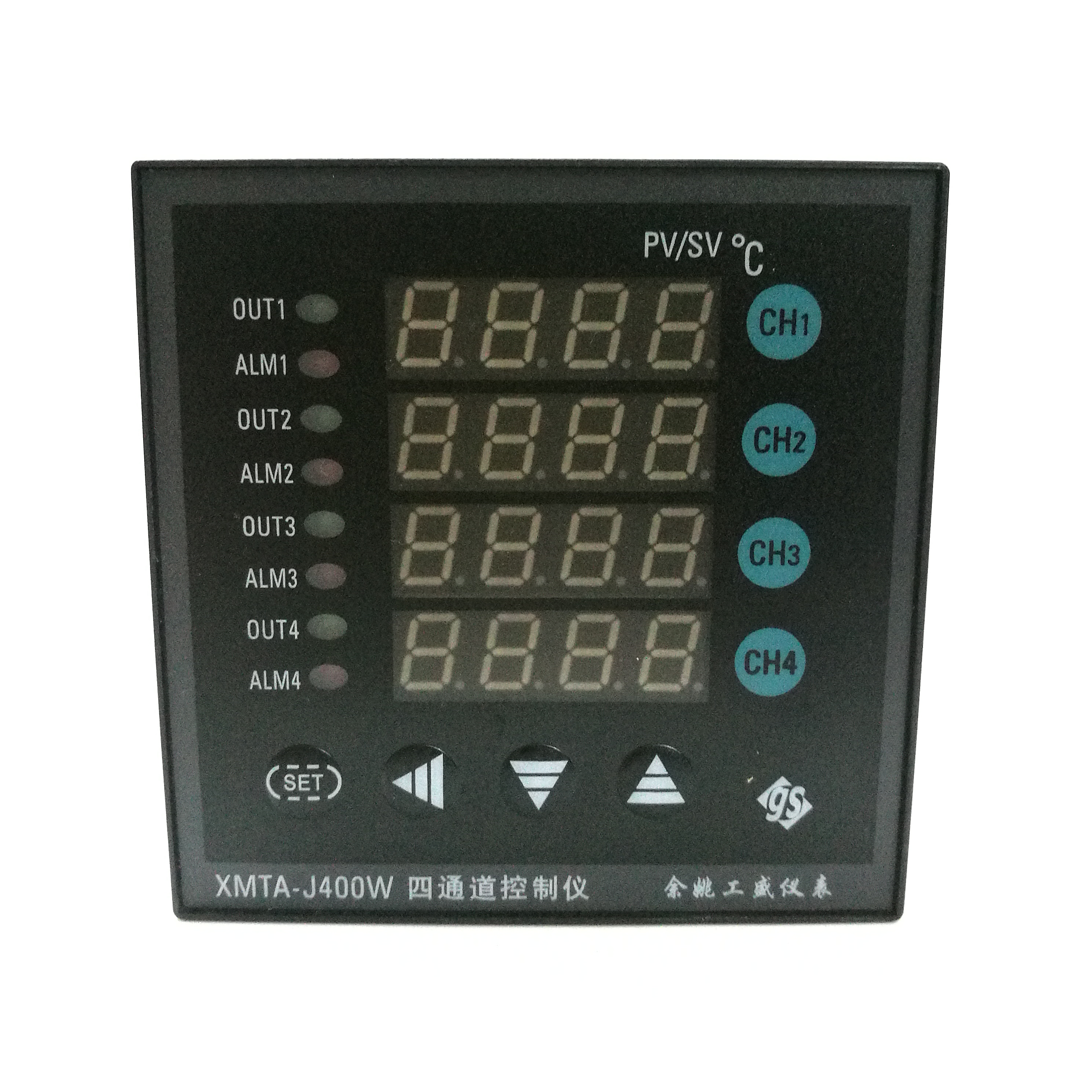 4 way temperature controller four channel temperature controller 4 channel temperature control meter four temperature control