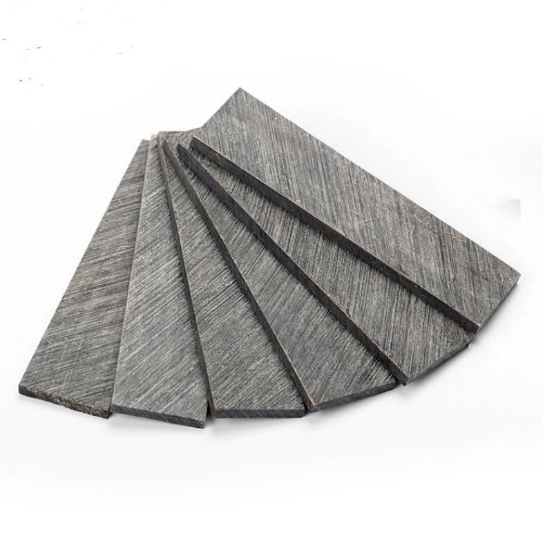 120 * 30 * 5mm Cuțit mâner de înaltă calitate, material de păstrat cu os de cămilă, materialele de gravare a tabletei de corn - preț de 1 bucată