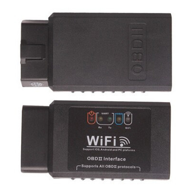 New Type elm 327 V1.5 Wifi Support OBD II OBD2 Professional Diagnostic code reader Tool Car Wireless Adapter Scanner