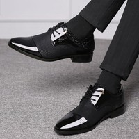 Business Luxury Mens Shoes - Breathable PU Leather 5