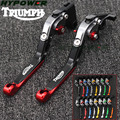 Регулируемые рычаги сцепления для мотоцикла с ЧПУ  16 цветов  Triumph 675 STREET TRIPLE 2008-2016 2015 2014 2013 2012 2011 2010