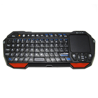 Bluetooth 3.0 mini Wireless touchpad Keyboard Game keyboard  for smart phone,tablet,Google TV,Laptop wholesale